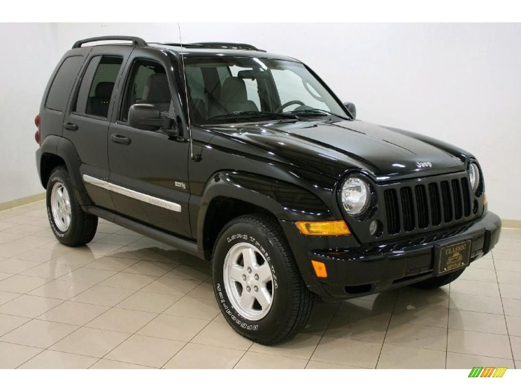2006 jeep liberty sport in classic black! http://images.carlotbot