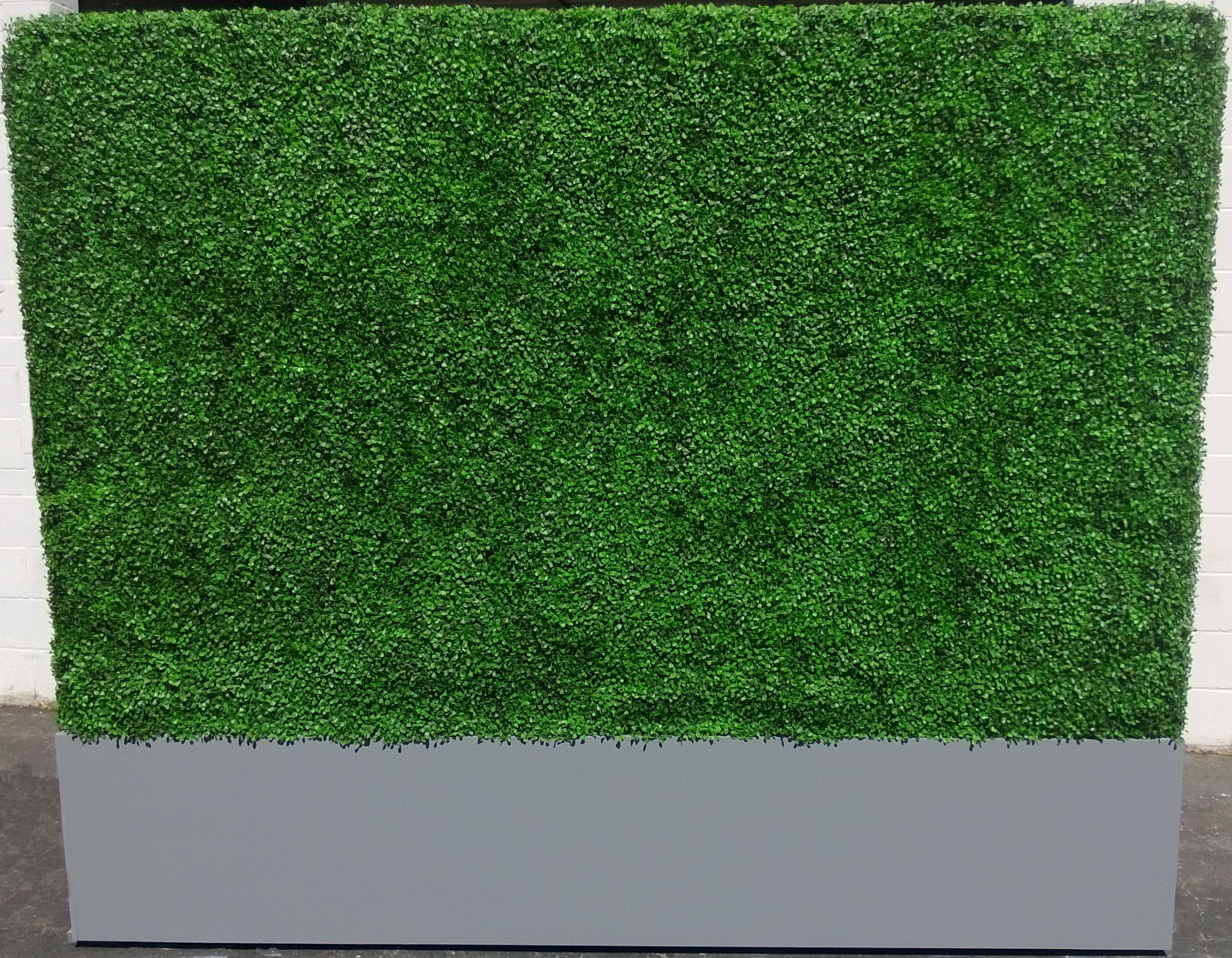 8 X8 Artificial Hedge Panel With Mdf Wood Base Artificial Hedges Artificial Foliage Geraniums