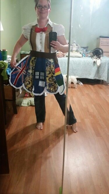 Dr who work apron