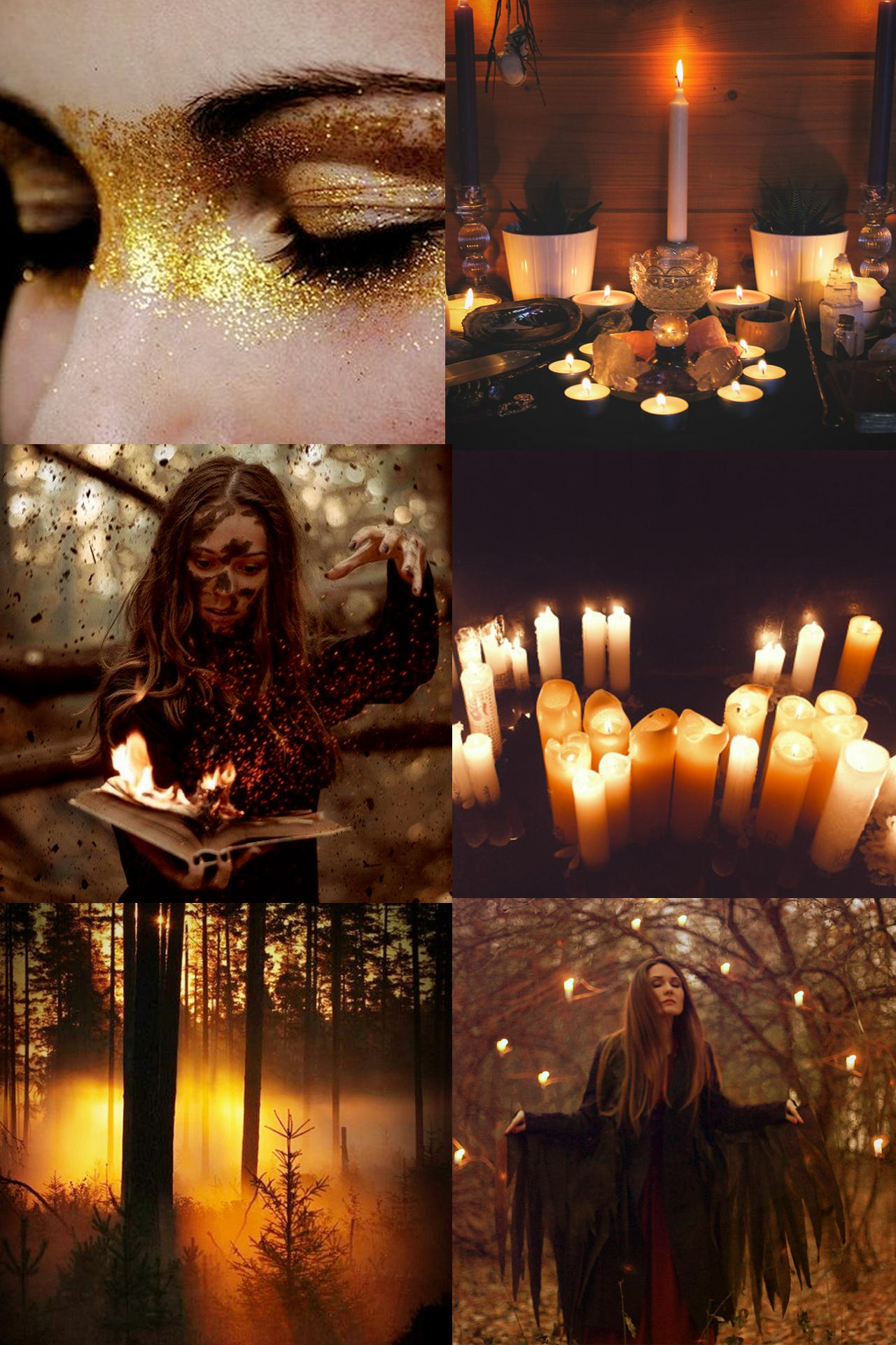 "oftalonsandteeth: "" Witchcraft Aesthetic // Autumn Witch ..."