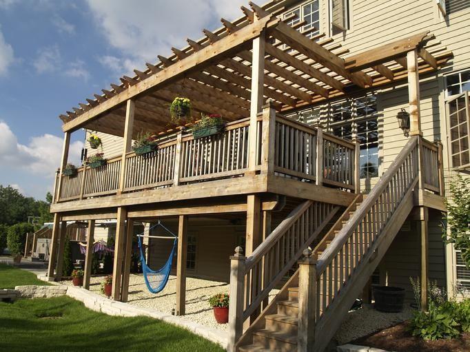 Cedar Arbors Pergolas Pergola Deck With Pergola Pergola