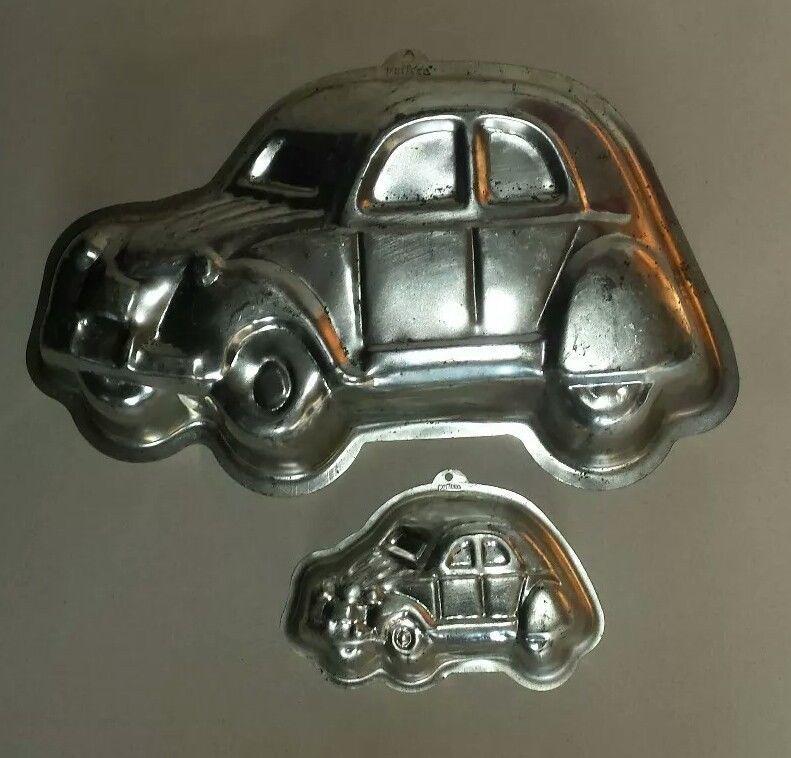 2cv cake tins. Citroën car memorabilia vintage baking cooking 2CV ...