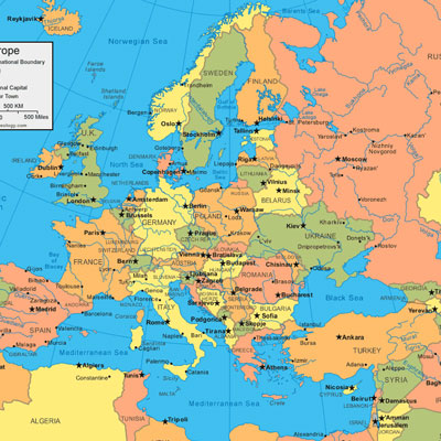 Sporcle Can You Name All The Countries In Europe Across - Map of europe countries