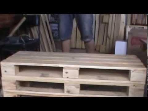 Con material de derribo una estanter a con cajas antiguas youtube muebles de maderas - Muebles de derribo ...