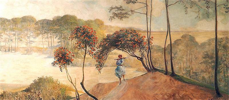 Jacek Malczewski - follow the stream (right wing),1910.
