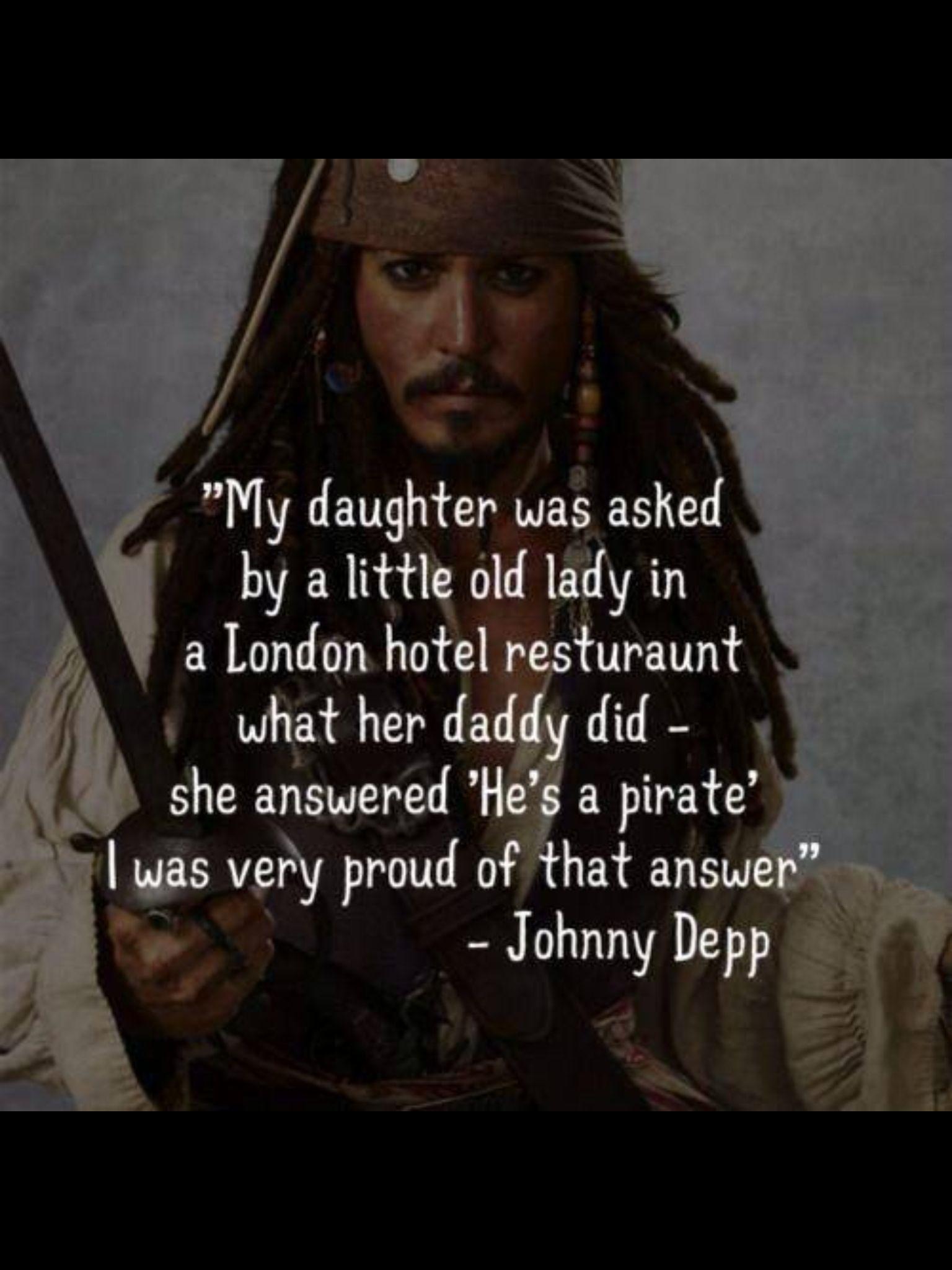 Johnny Depp Disney Captain Jack Sparrow
