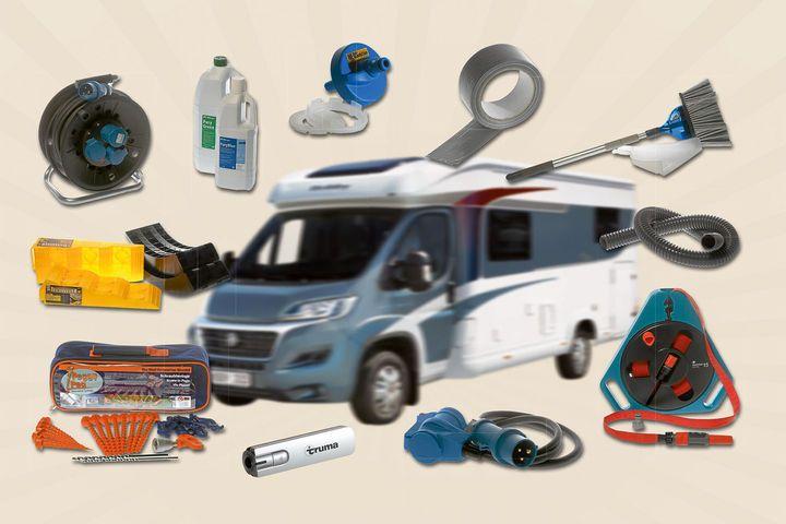 basiswissen campingzubeh r 16 dinge die jeder reisemobilist braucht pinterest wohnmobil. Black Bedroom Furniture Sets. Home Design Ideas