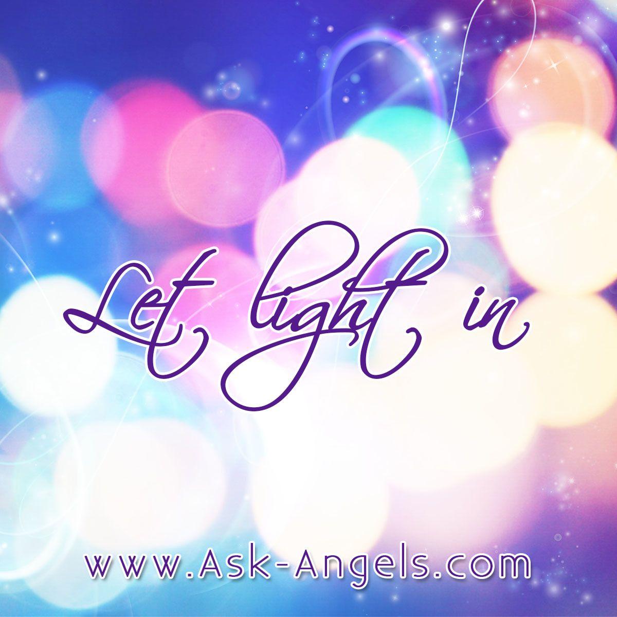 Spiritual Life Quotes And Sayings Let Light In Angelicinspiration Askangels Spiritual  Facebook