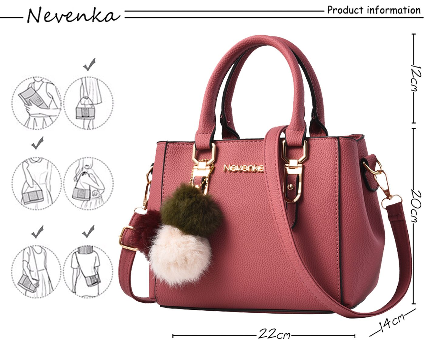 Nevenka Women Bag Pu Leather Tote Brand Name Ladies Handbag Lady Online Get Cheap Amp Wiring Kit Aliexpresscom Alibaba Group Evening Bags Solid Female Messenger Travel Fashion Sac In Top Handle From Luggage On