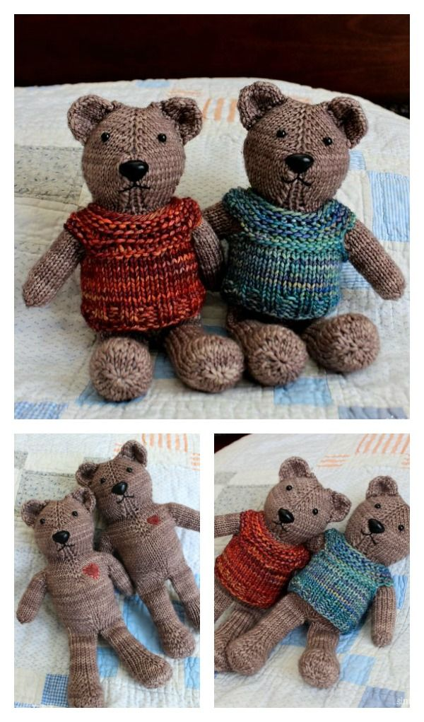 10+ Cute Knitted Toy Free Patterns That Kids Will Love | Pinterest ...