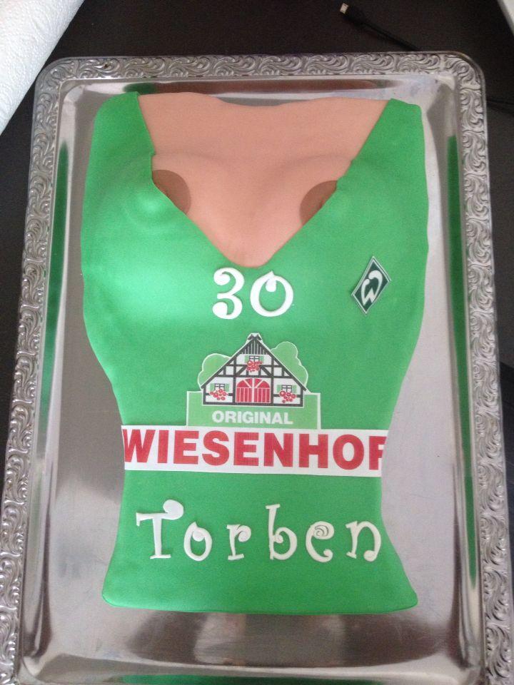 Werder Bremen Boobs Torte Motiv Torten Cake Art Kuchen Und Cake