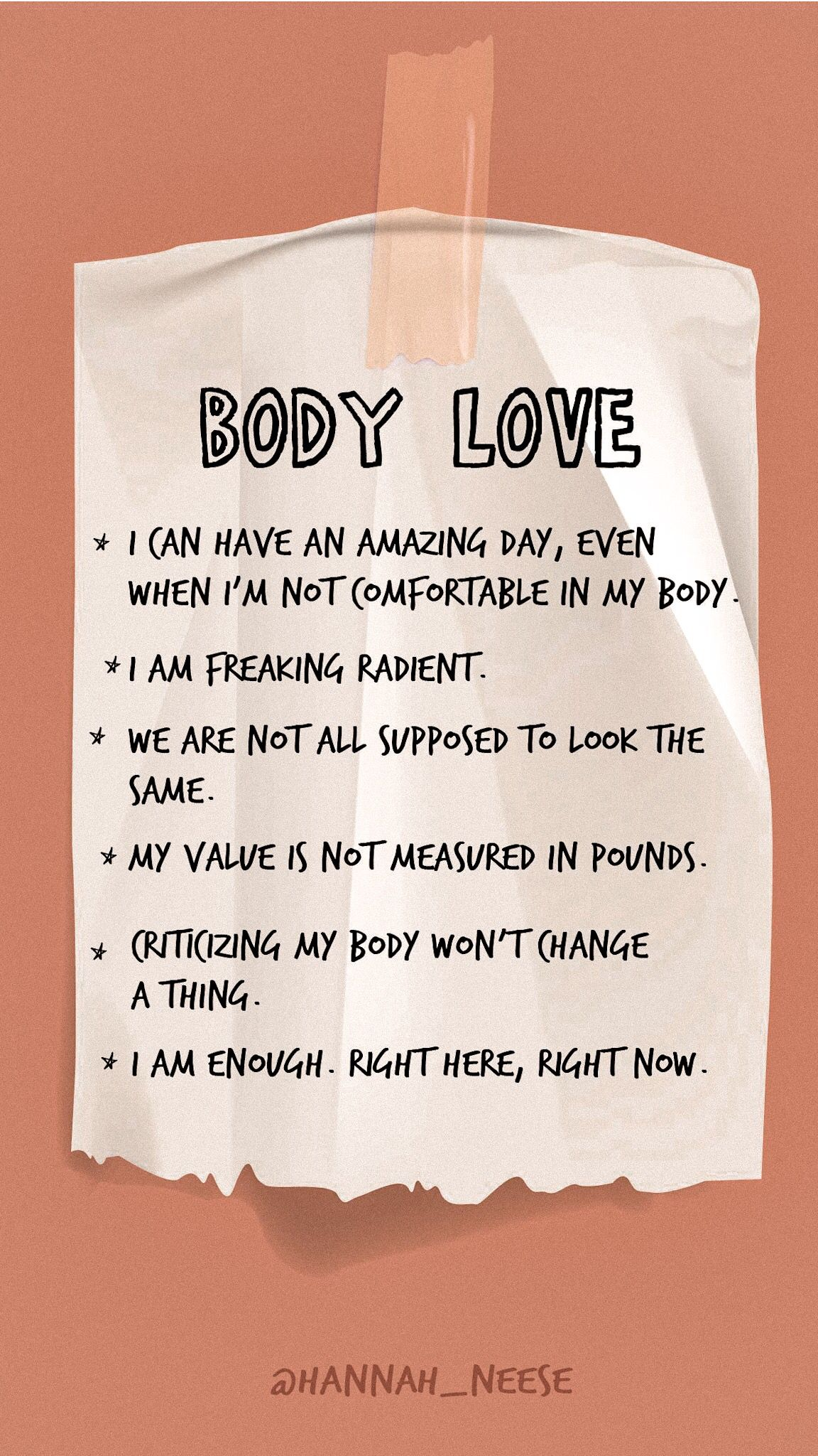 Body Confidence Tips Body Positive Quotes