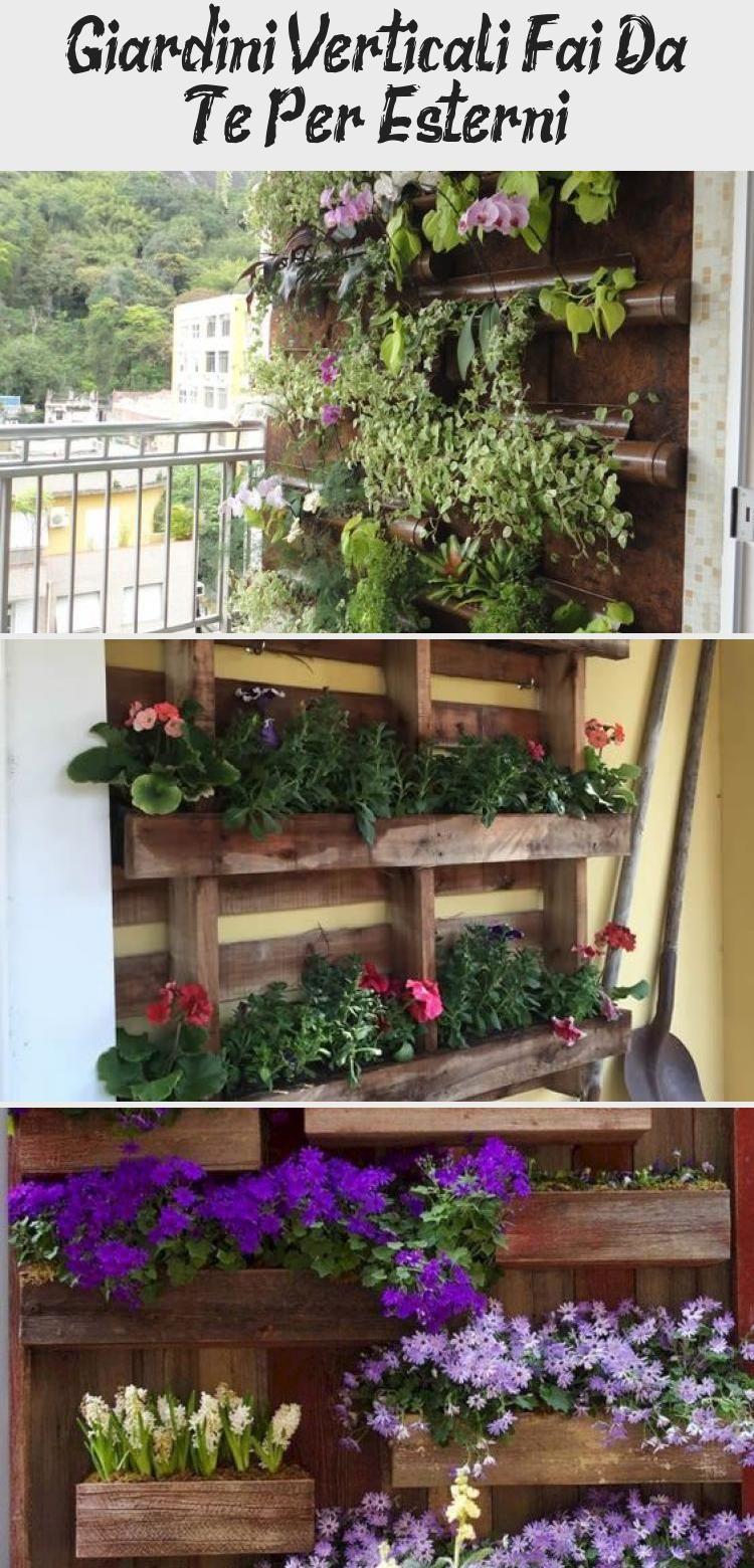Giardini Verticali Fai Da Te giardini verticali fai da te per esterni | garden, garden