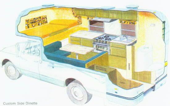 1969 Avion Truck Camper Restoration Vintage Camping Pinterest