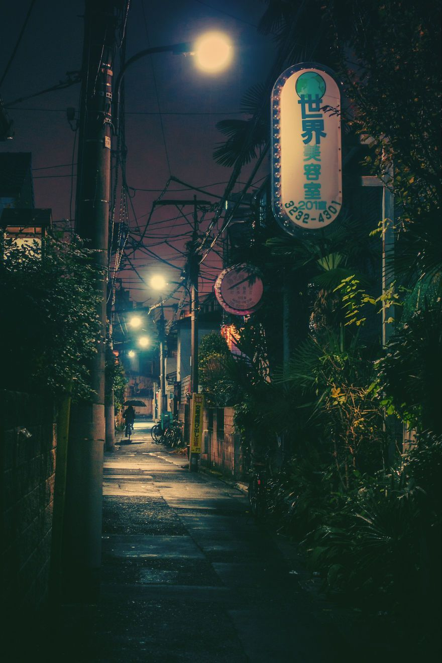 Magical Night Photos Of Tokyo's Streets By Masashi Wakui Look Straight Out Of Miyazaki Films (New Photos) #photography