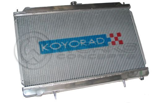 Aluminum Radiator For Mitsubishi Lancer Evolution EVO 4 5 6 EVO IV V VI  96-00