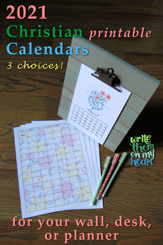 2021 Christian Printable Calendar Write Them On My Heart Planner Scripture Writing Plans Roman 3 The Living Bible Paraphrase
