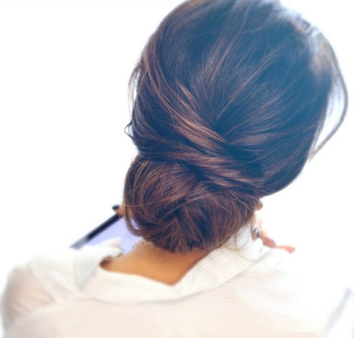 Comment Faire Une Coiffure Facile Cheveux Mi Longs Hair