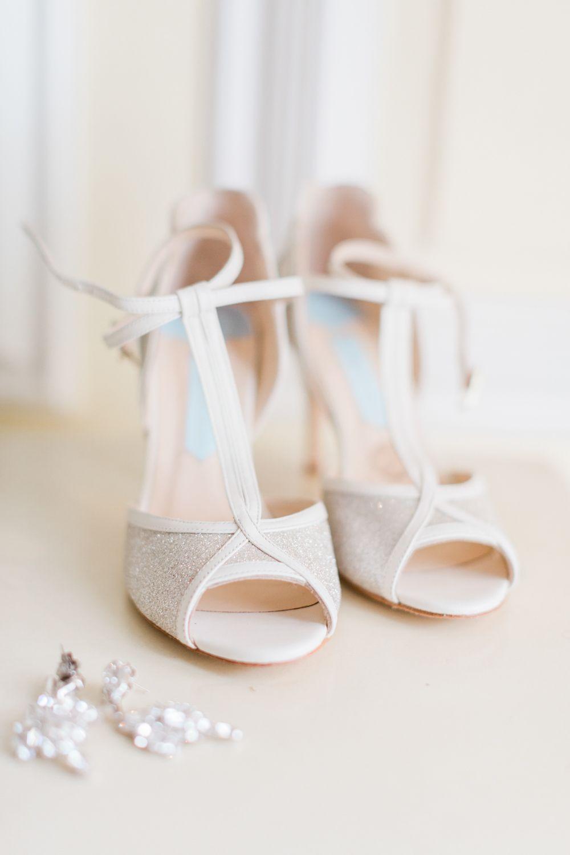 Charlotte Mills T Bar Wedding Shoes