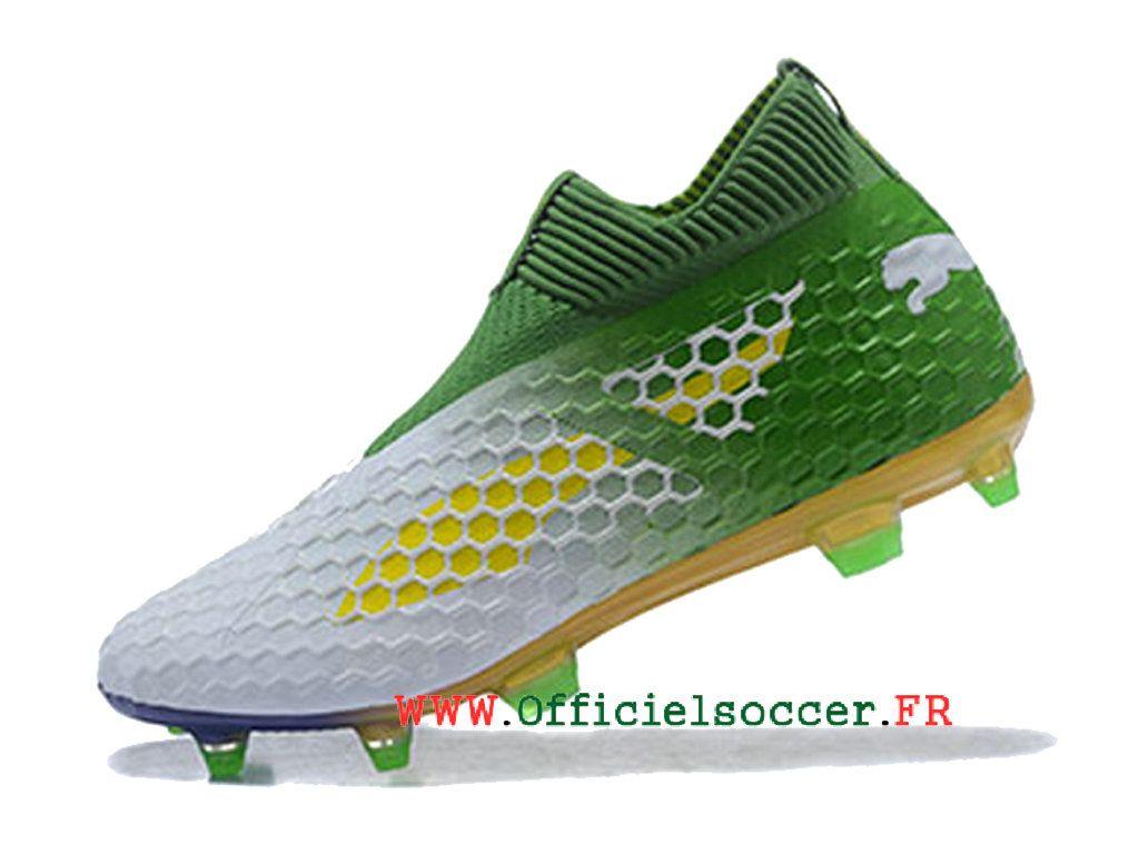 Evopower Vigor 1 Graph MX SG, Chaussures de Football Homme, Jaune (Safety Yellow-Silver-Blue Depths), 42.5 EUPuma
