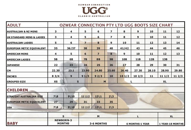 UGG-boot-size-chart.png (800×545)   Ugg