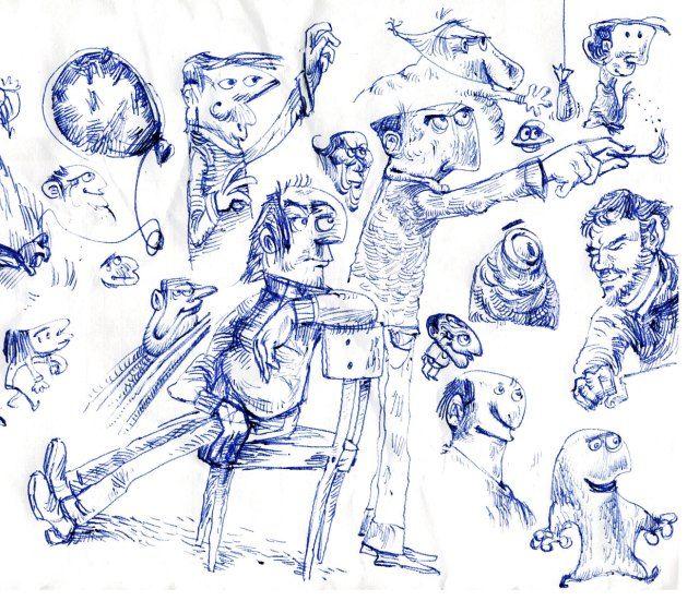 Schizzi in allegria http://dariotolkien.wordpress.com/