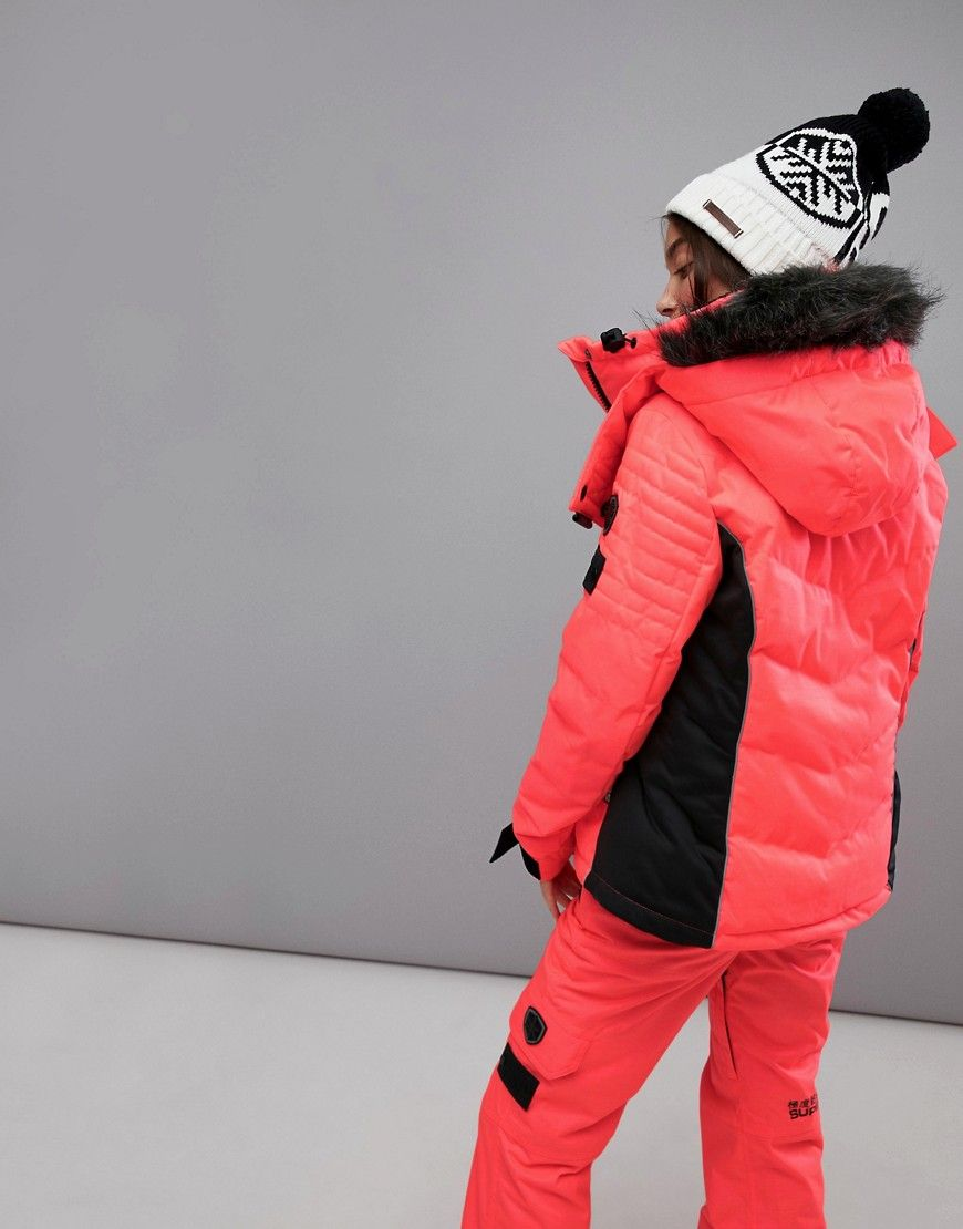 7da40b4e6 Superdry Snow Padded Ski Jacket | Outerwear | Jackets, Superdry ...