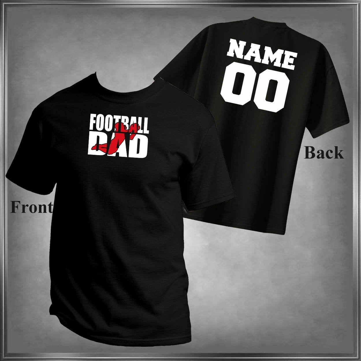 Personalization on the Back  Shirts  Add to order
