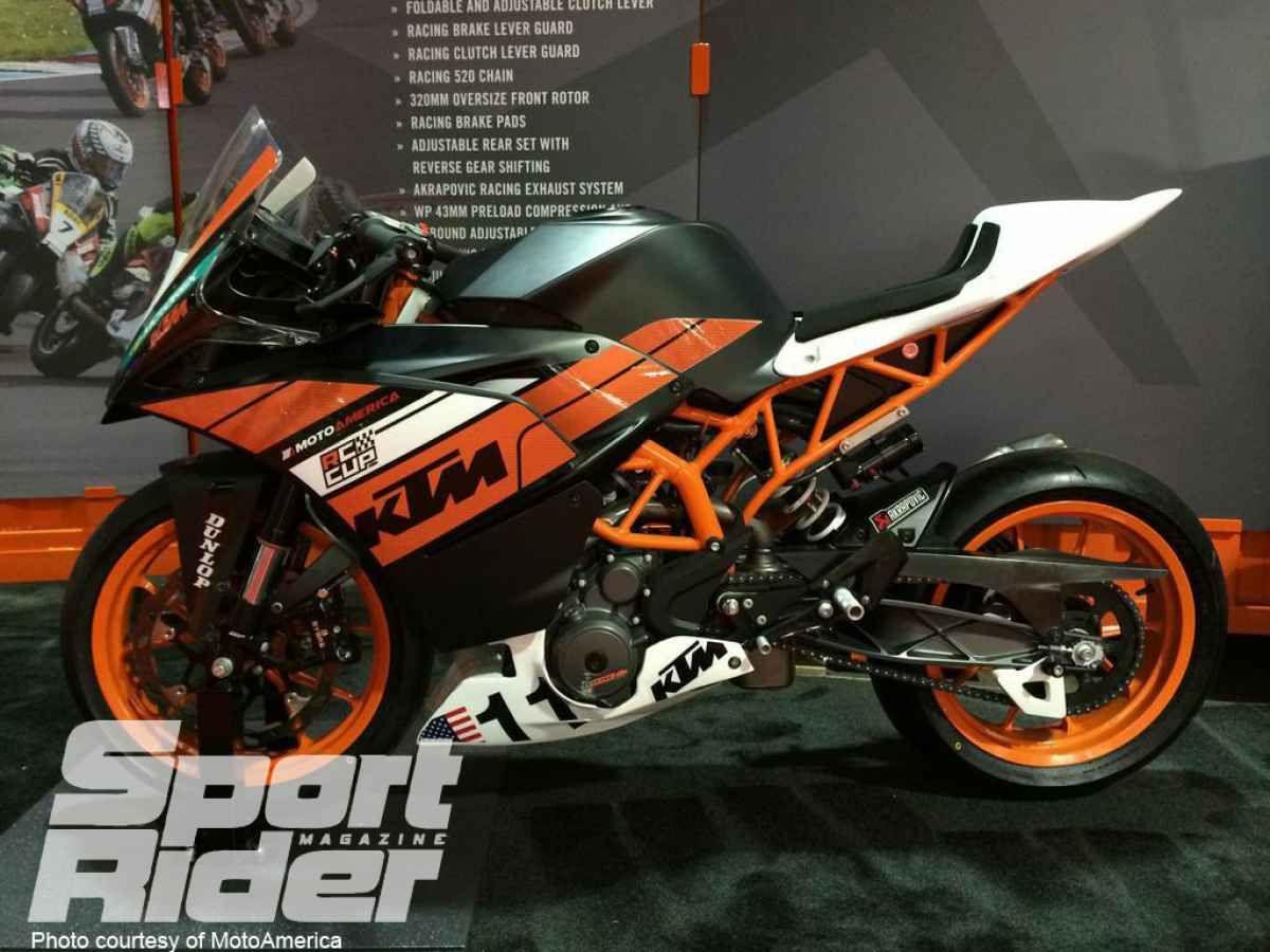 Ktm Announces Details On Rc 390 Cup Racebike