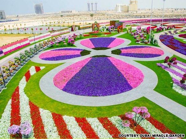 Worlds Largest Natural Flower Garden In Dubai