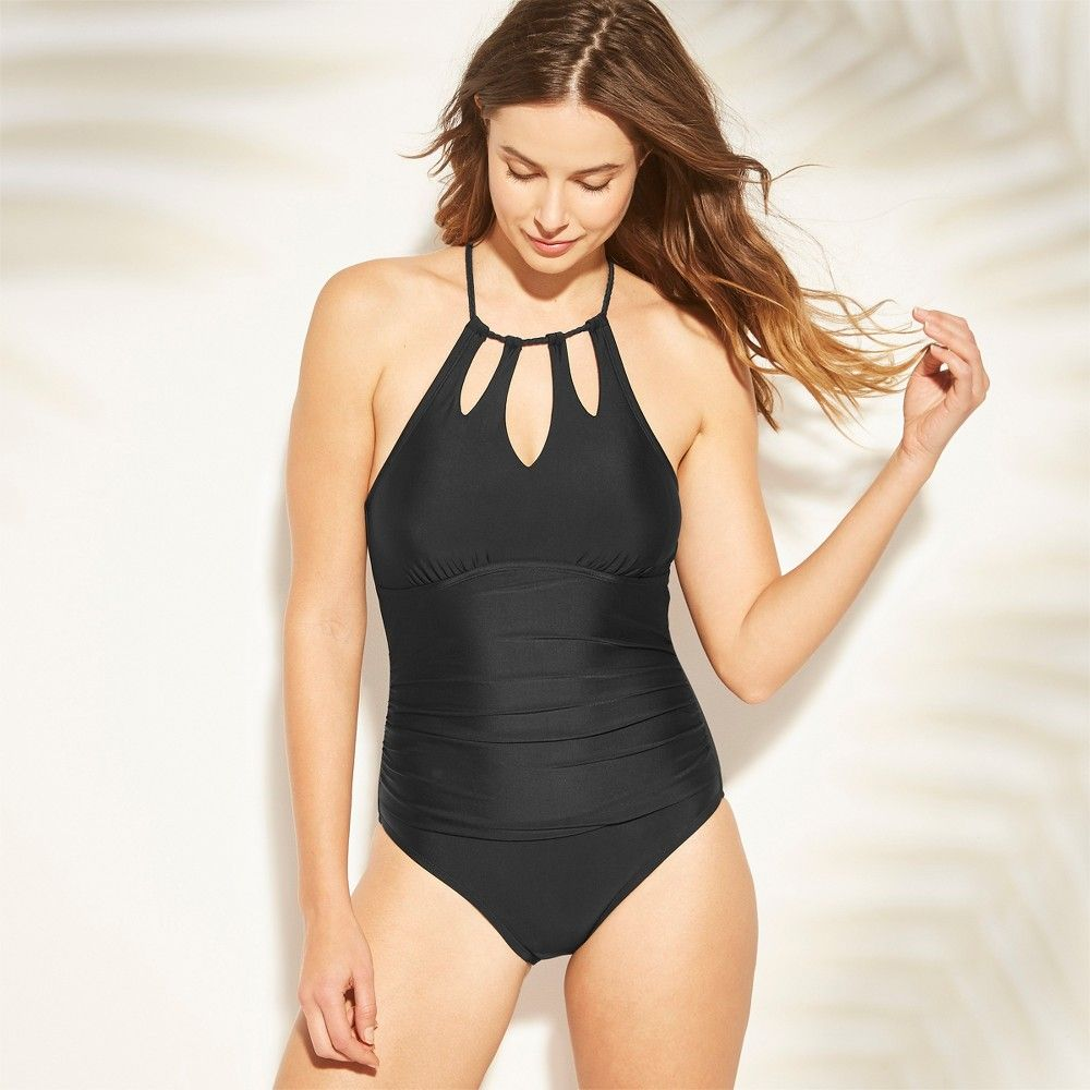 f08a362c2bb Bring on-trend style to your swim collection with the Shirred ...