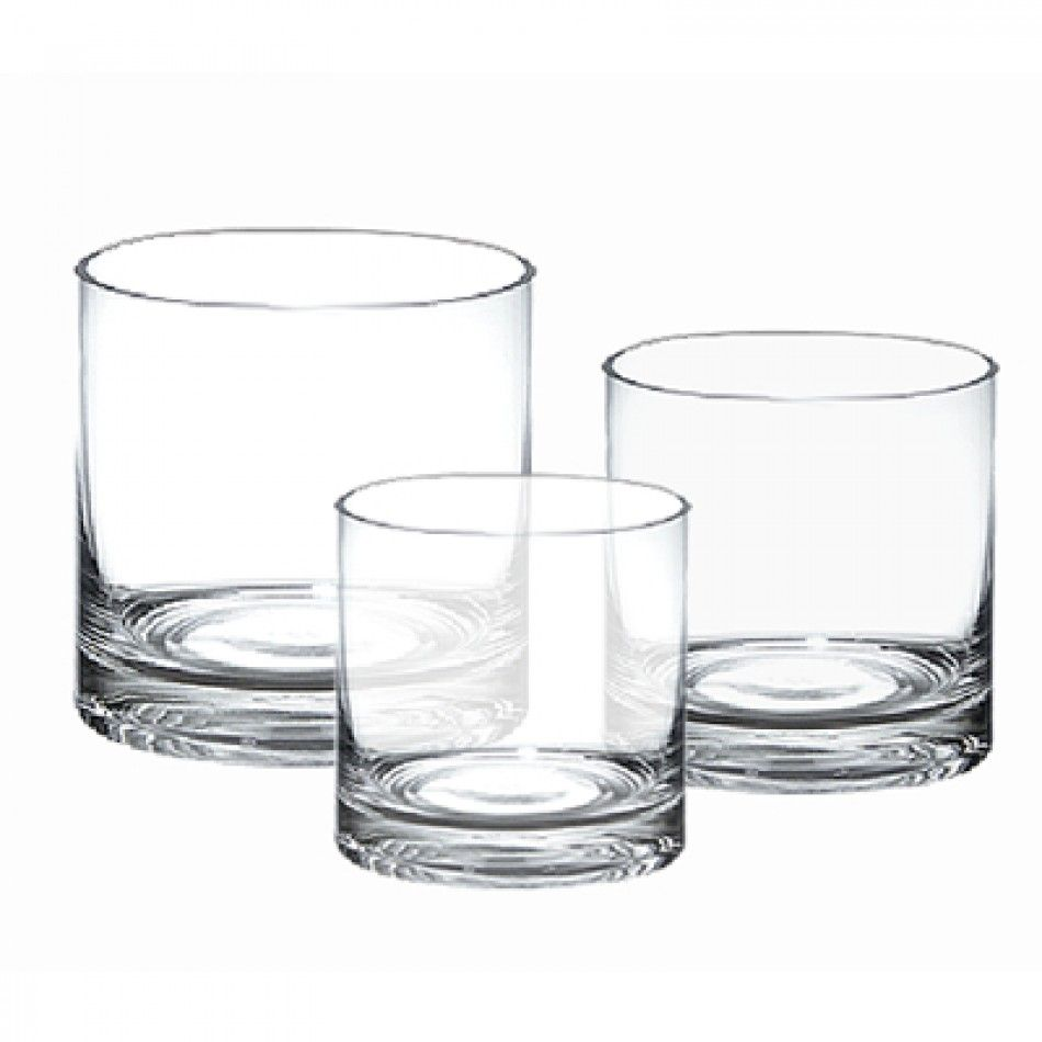 Cylinder Set of 3 Vases (Case of 4 Sets = $36.00/Set) [GCY141/3 ...