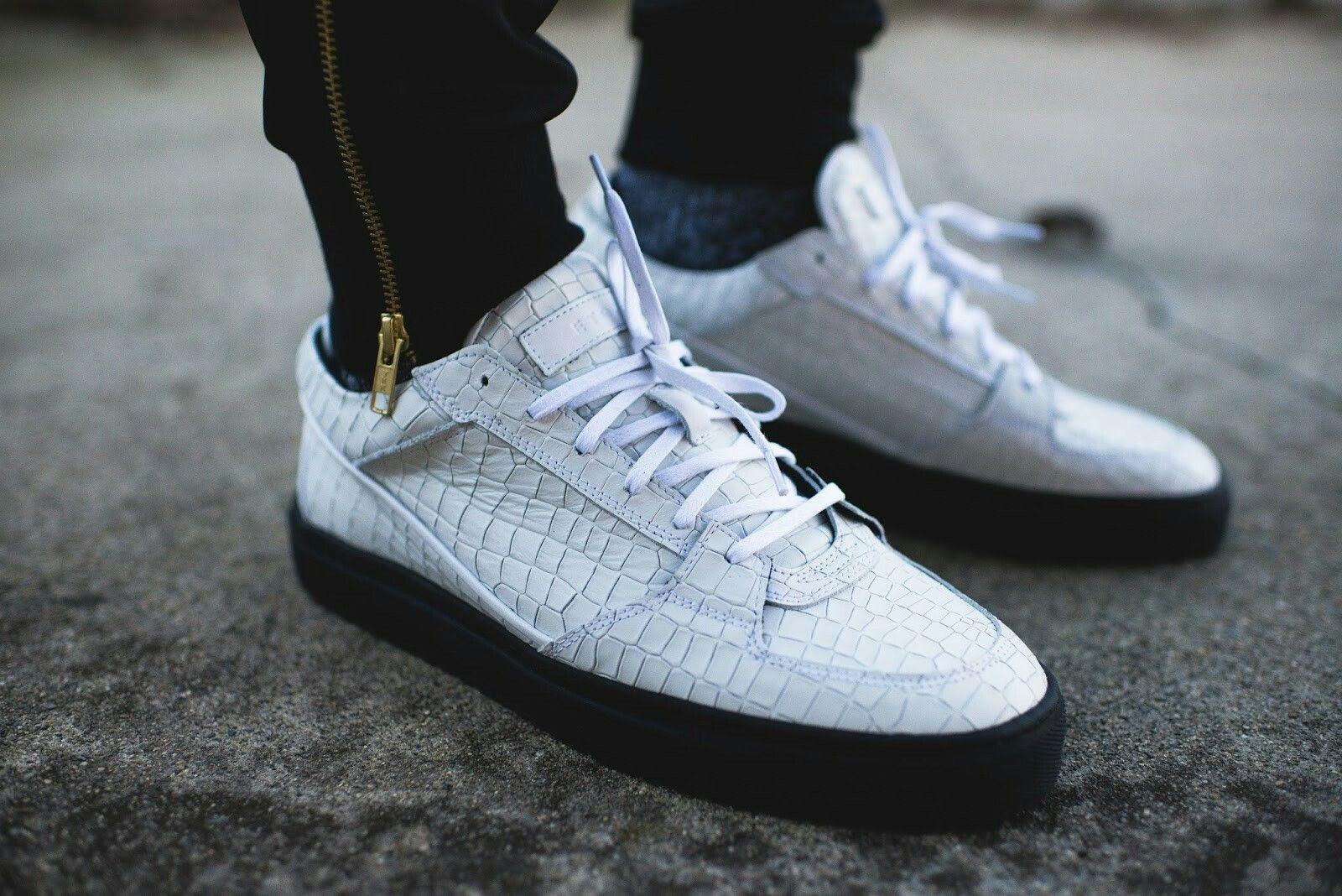 Etq. Etq. Woven Low-top Sneakers - Black Tissés Chaussures De Sport Faible - Noir sL0l1xhFy