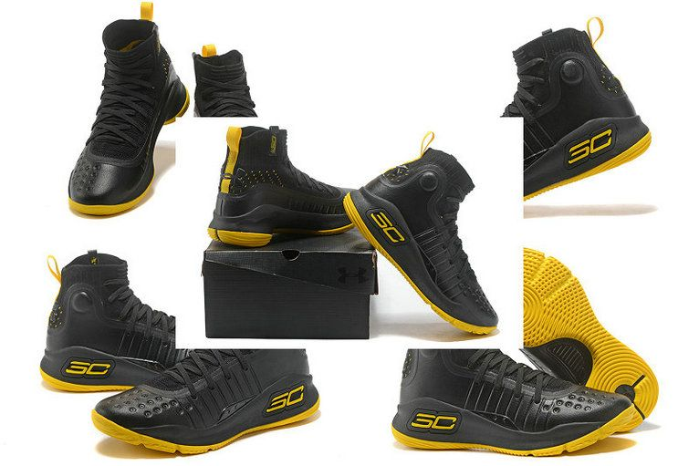 6e637642370e 2018 New Style Curry 4 Size US 7.5 10.5 9 Taxi Black Yellow ...