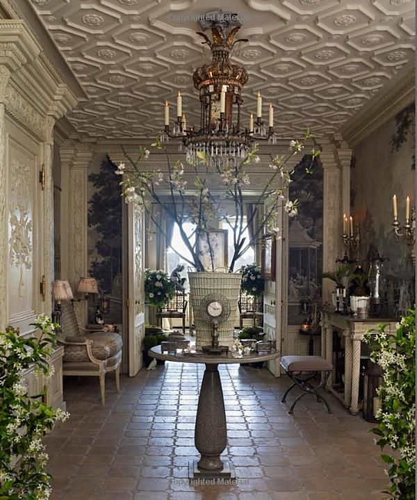 Ceiling, Wall Moldings, Doors, Floor. Fifth Avenue Style