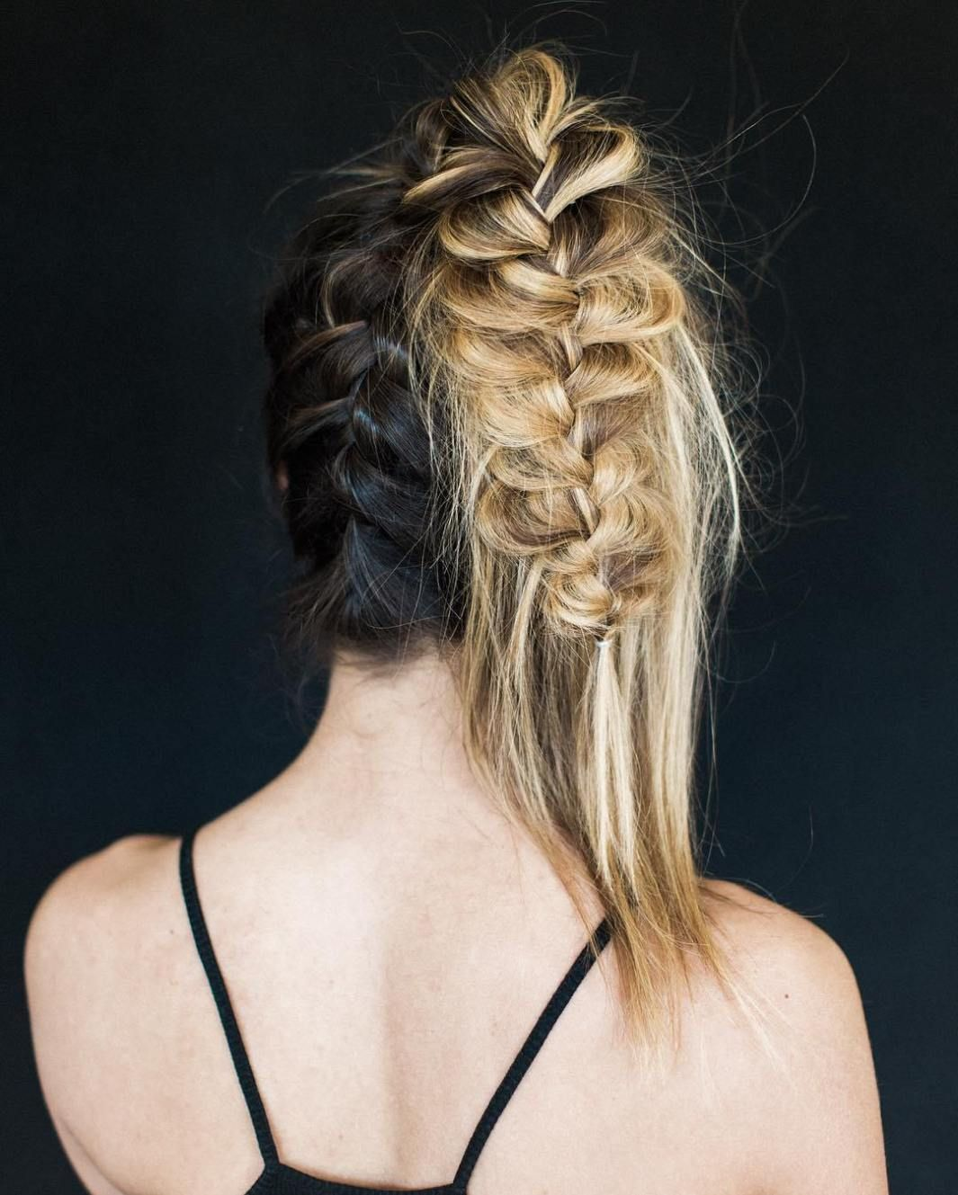 38 Perfectly Imperfect Messy Hairstyles for All Lengths   Messy braided  hairstyles, Messy hairstyles, French braid hairstyles