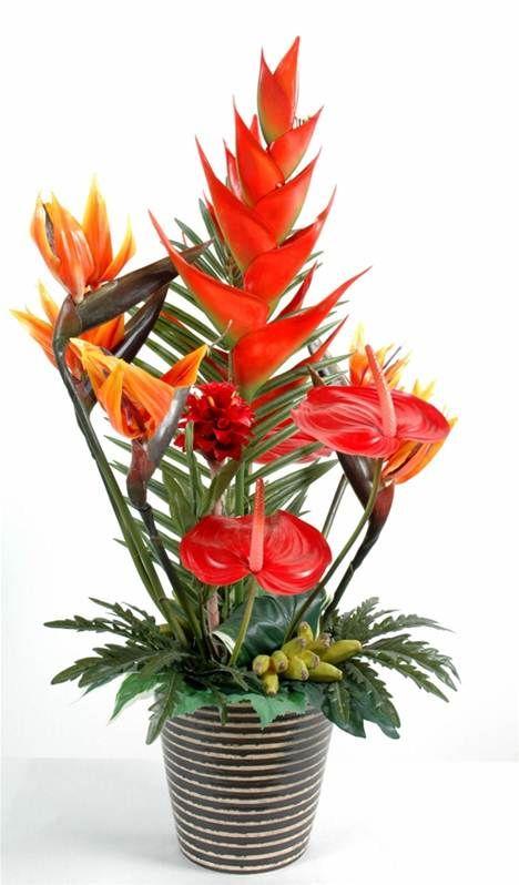 Bouquet Exotique Helico Exotique Pinterest Tropical Flower
