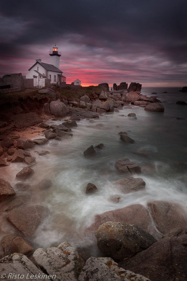 Lighthouse in Brittany by Risto Leskinen on 500px