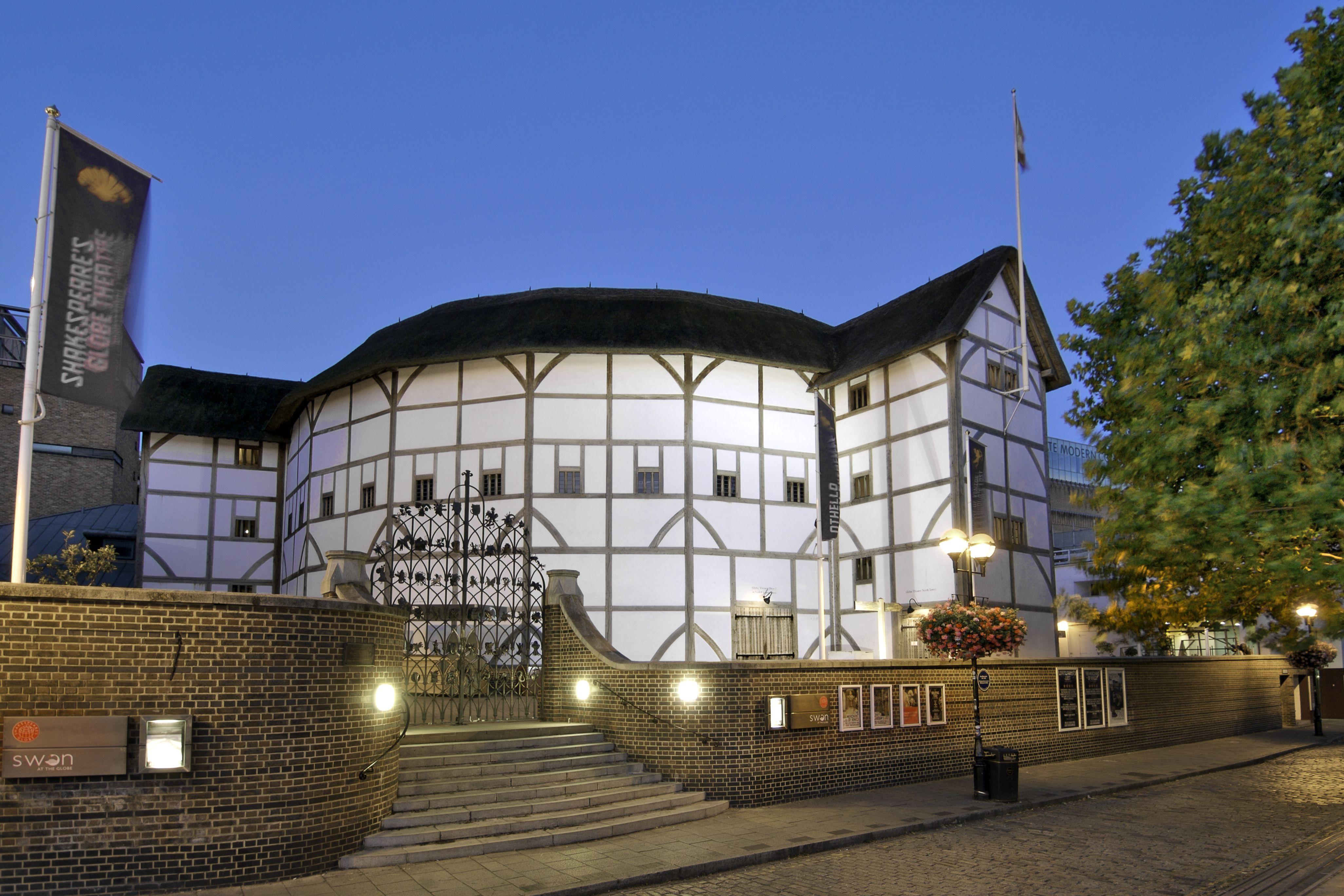 Shakespeare's Globe in London, England in 2020 England