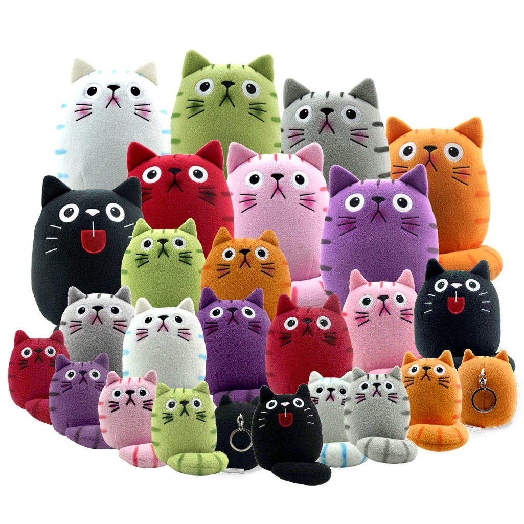 Pin Auf Fat Cat Plush Toys
