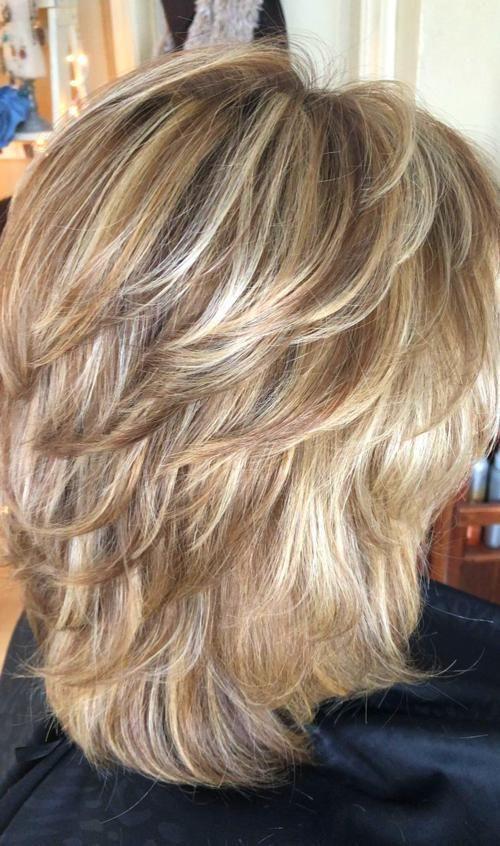 Hairstyles layered hair #ShortHairHairstyles # ...