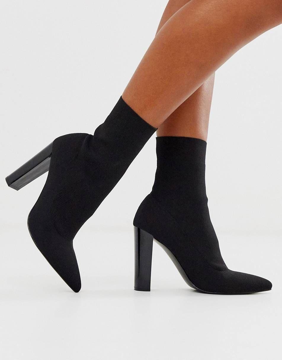 Pin By Filia Wear Woman Outfit Idea On Heels In 2020 Socks And Heels Boots Heels