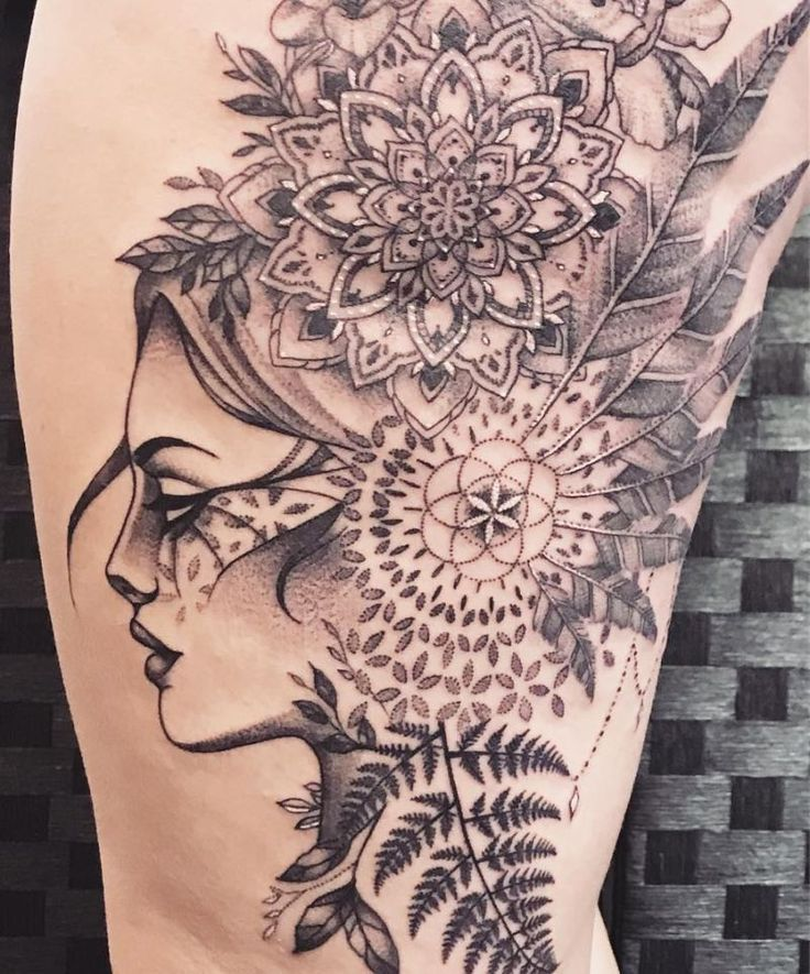 50 der schönsten Mandala Tattoo Designs für Körper & Seele – Mandala Tätowierung – Tattoo
