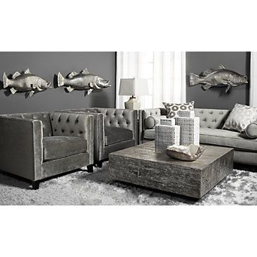 Make A Statement With Our Royce Sofa A Z Gallerie Exclusive