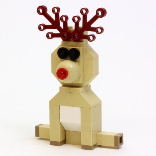 Lego Set Moc 1098 Reindeer Building Instructions And Parts List