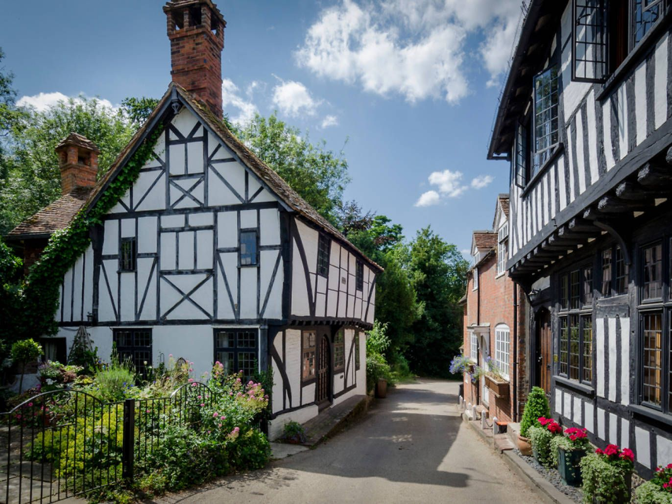 Nine villages near London that time London
