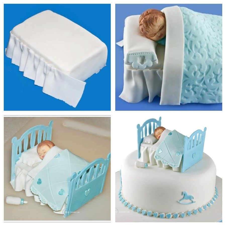 Baby Bassinet Cake How To Do Baby