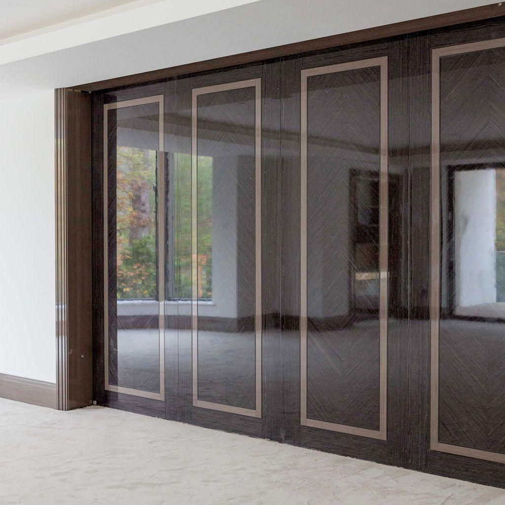 Photo of Bespoke C27/ R155 ALU Hybrid – High Gloss – Solid Wooden Doors