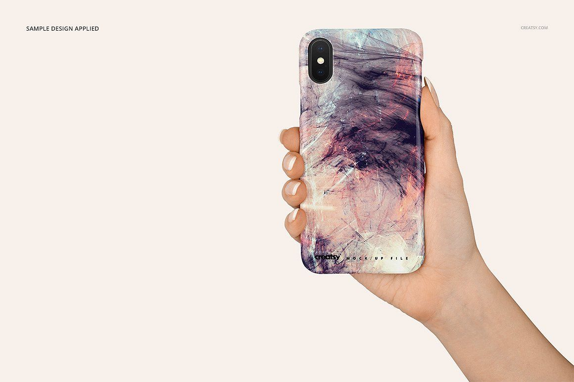 Download Iphone X Plastic Case Mockup Set Phone Case Design Plastic Case Professional Business Card Design