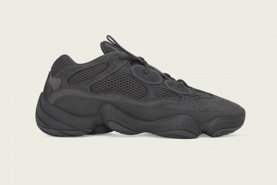 A Clean Look At The Adidas Yeezy 500 Utility Black Yeezy 500 Yeezy 500 Black Yeezy